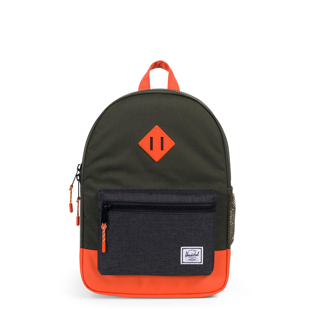 Herschel Heritage Youth Rugzak Forest Night/Black Crosshatch