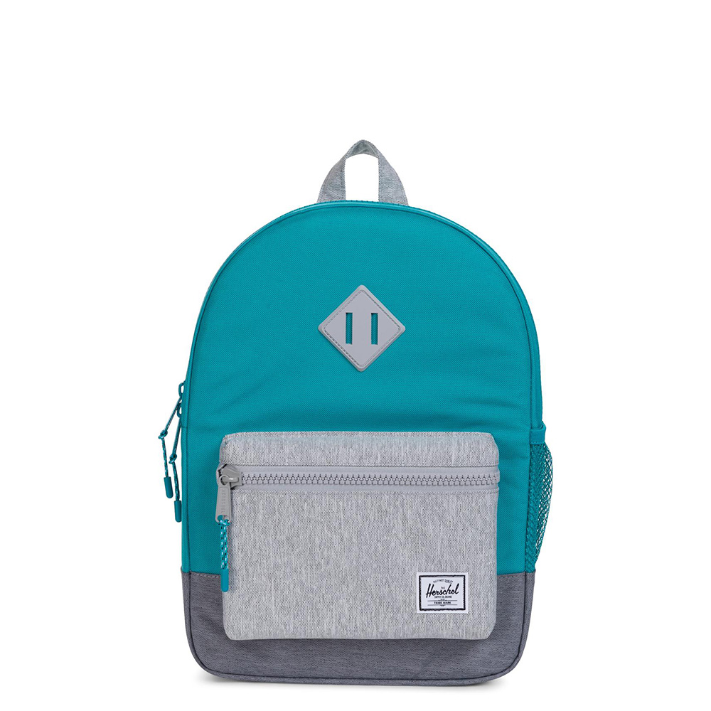 Herschel Heritage Youth Rugzak Tile Blue/Light Grey Crosshatch