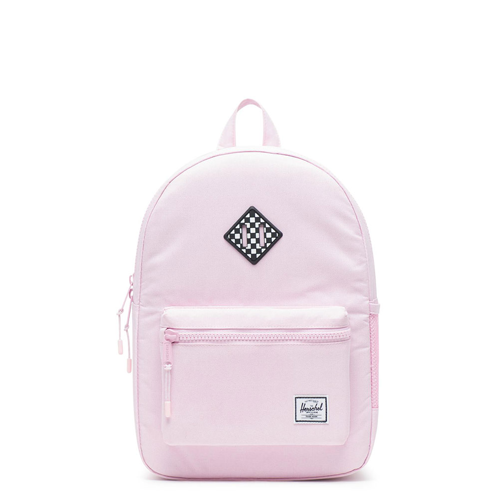 Herschel Heritage Youth Rugzak Pink Lady Crosshatch/Checkerboard