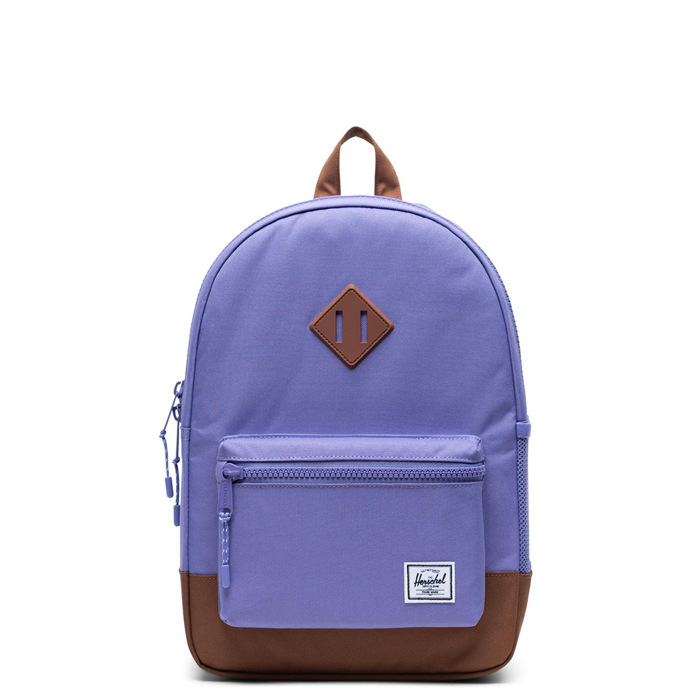 Herschel Heritage Youth Rugzak Aster Purple Saddle Brown