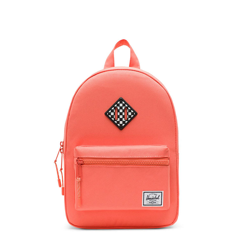 Herschel Heritage Kids Rugzak Fresh Salmon/ Checkerboard