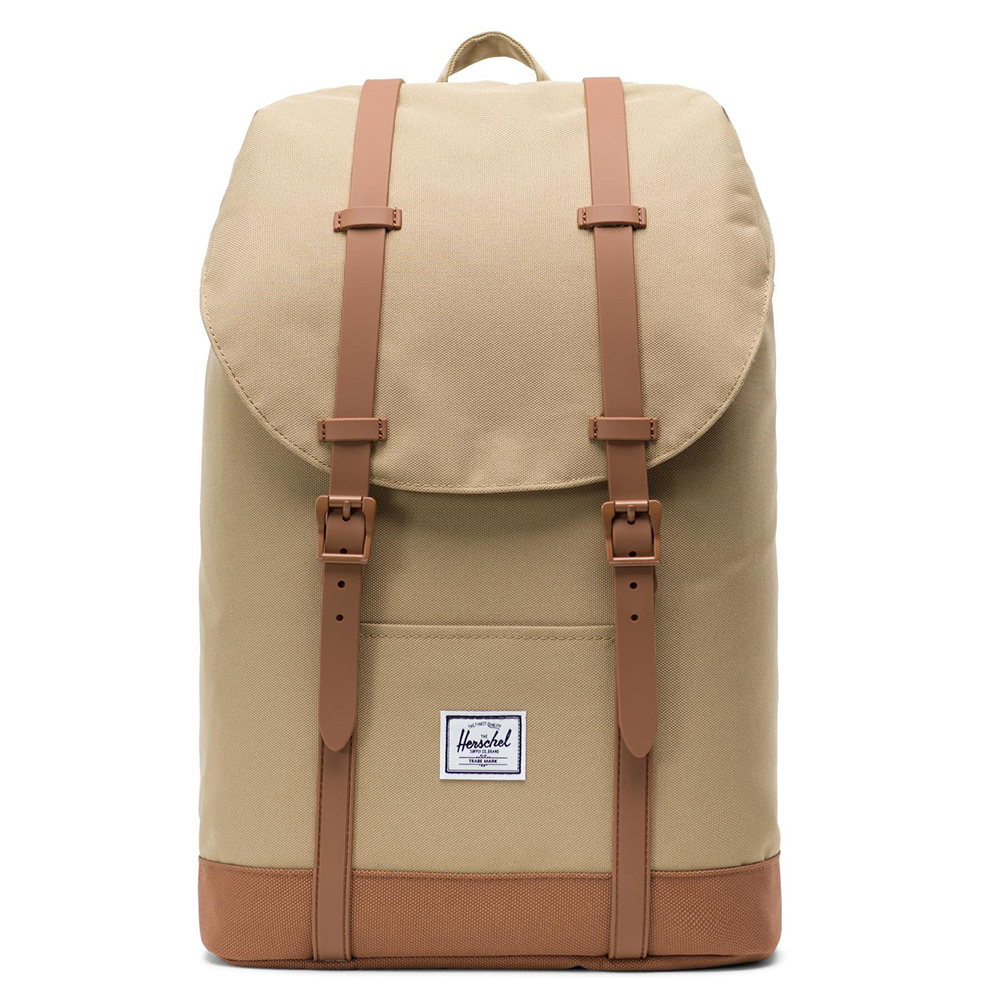 Herschel Retreat Mid-Volume Rugzak Kelp/Saddle Brown