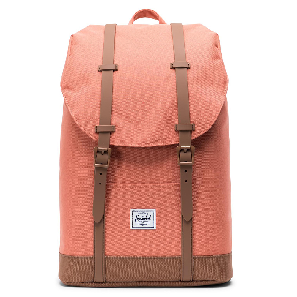 Herschel Retreat Mid-Volume Rugzak Apricot Brandy/Saddle Brown