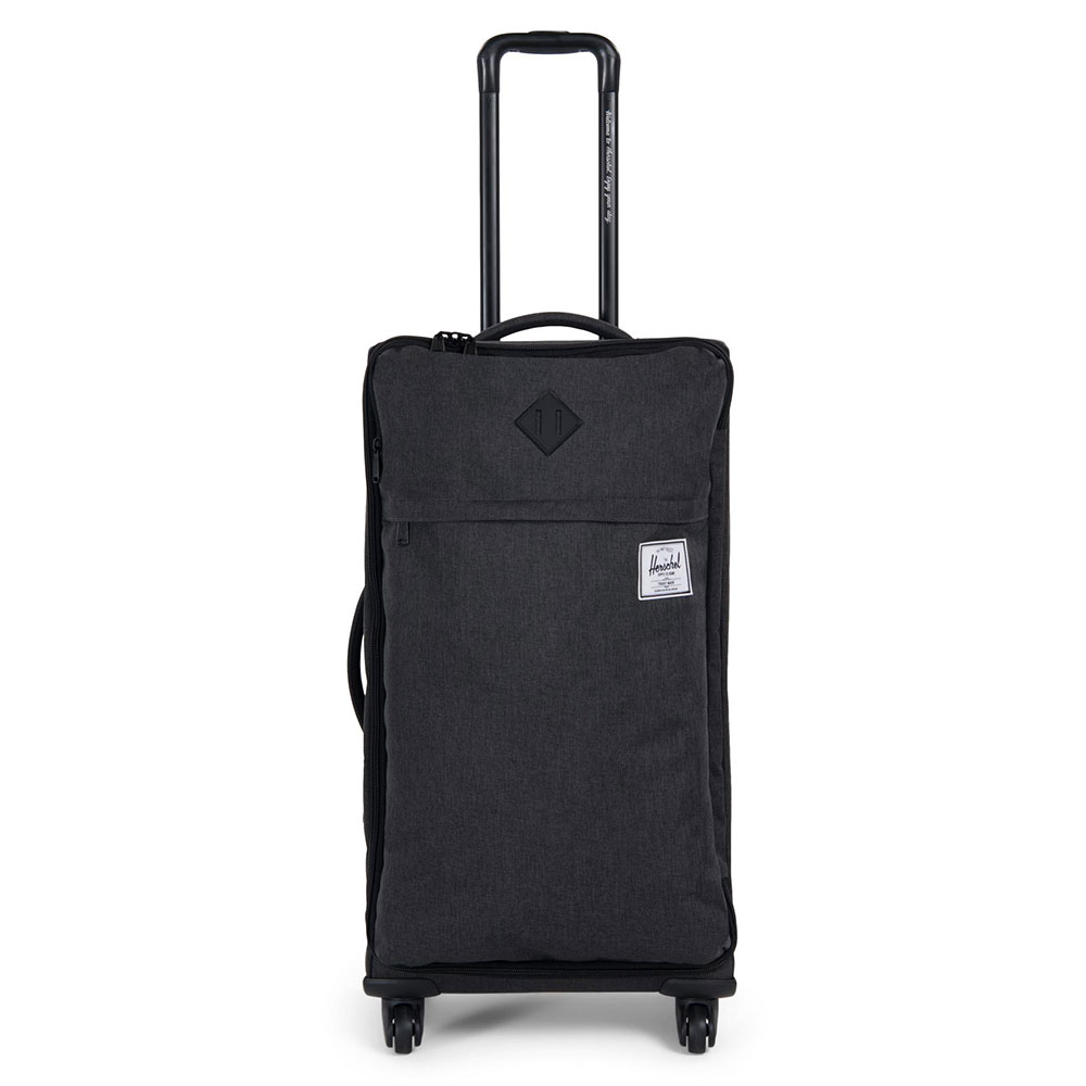 Herschel Highland Trolley Medium Black Crosshatch