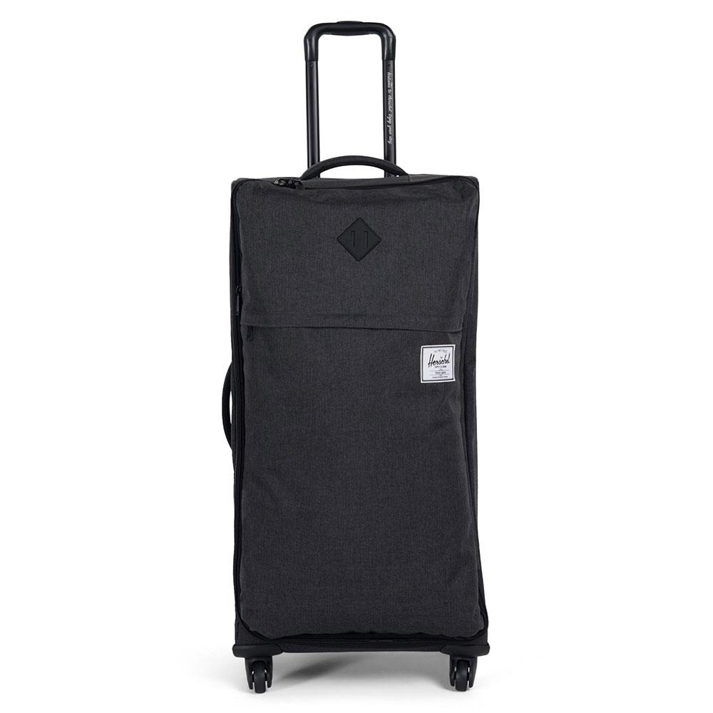 Herschel Highland Trolley Large Black Crosshatch