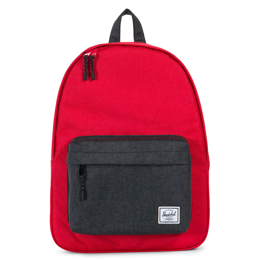 Herschel Classic Rugzak Cherry Crosshatch/Black Crosshatch
