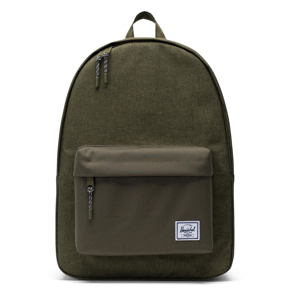 Herschel Classic Rugzak Olive Night Crosshatch/Olive Night
