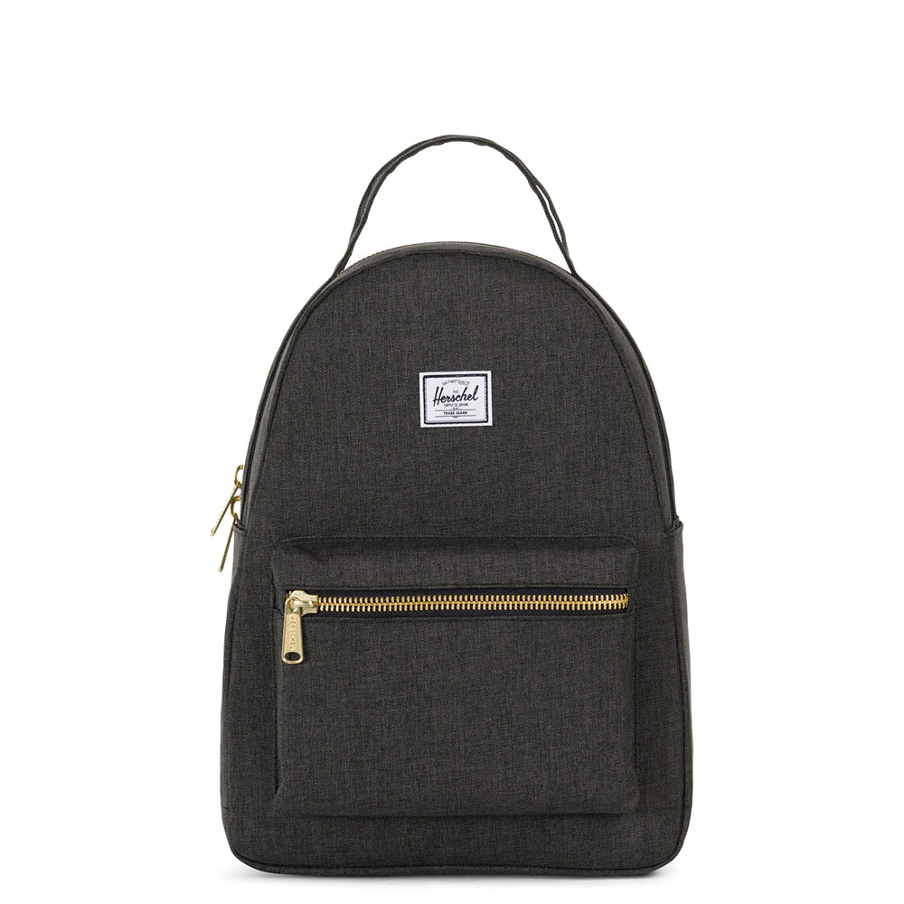 Herschel Nova Small Rugzak Black Crosshatch