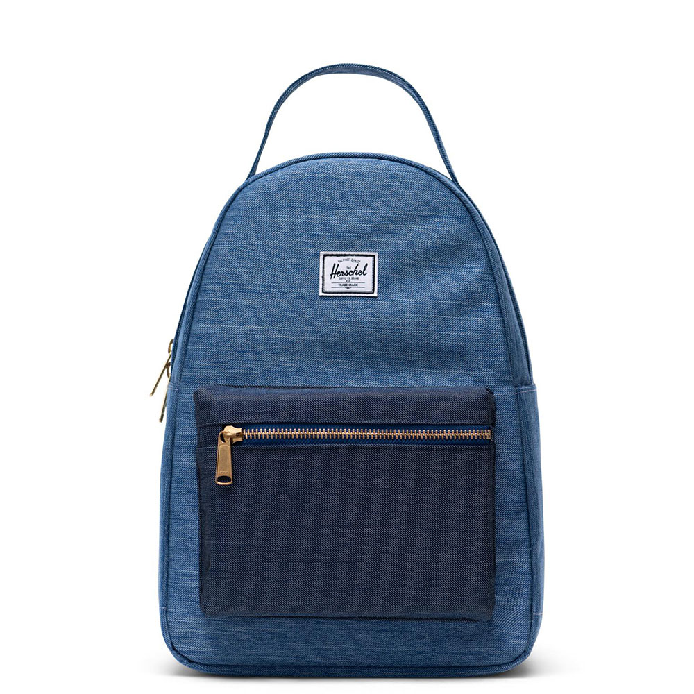 Herschel Nova Small Rugzak Faded Denim/Indigo Denim