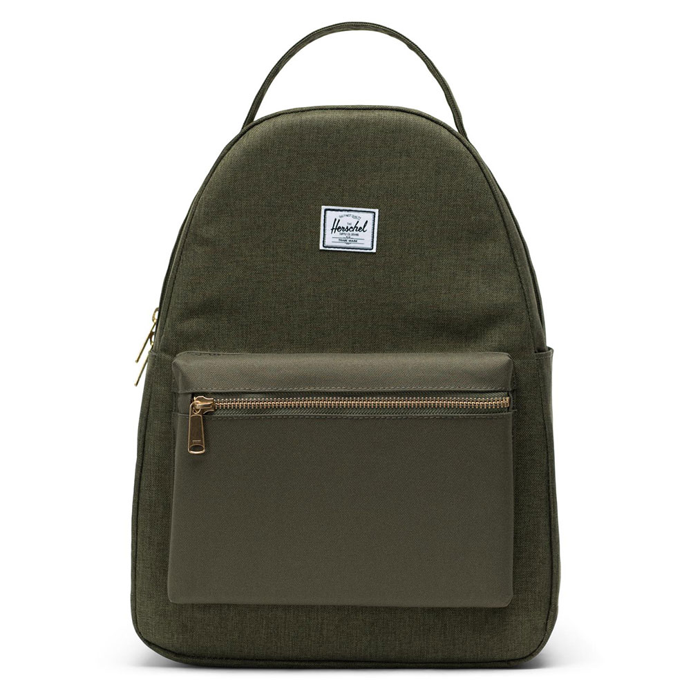 Herschel Nova Mid-Volume Rugzak Olive Night Crosshatch/Olive Night