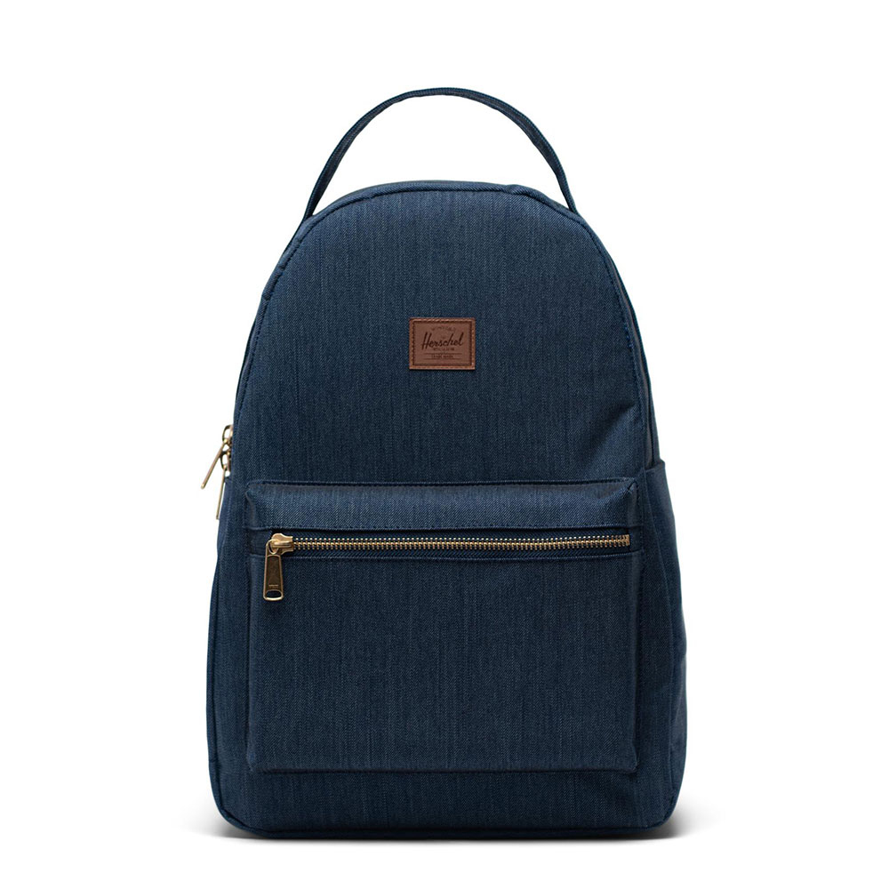 Herschel Nova Mid-Volume Rugzak Indigo Denim Crosshatch