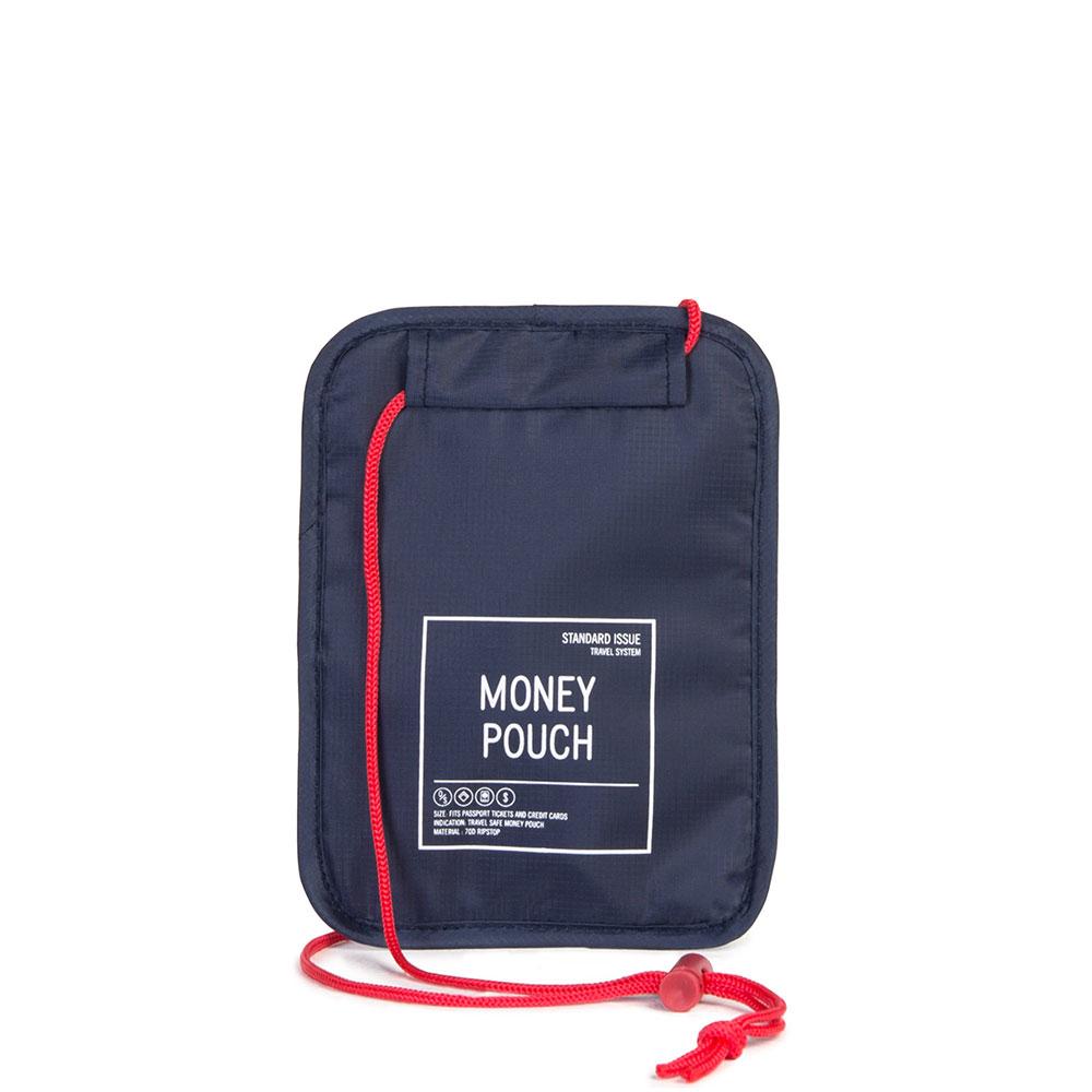 Herschel Travel Accessoires Money Pouch Navy/Red