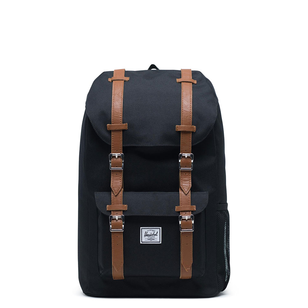 Herschel Little America Youth Rugzak Black/Saddle Brown