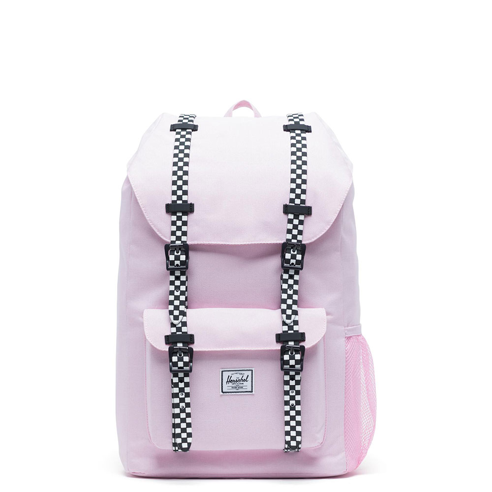 Herschel Little America Youth Rugzak Pink Lady Crosshatch/Checkerboard