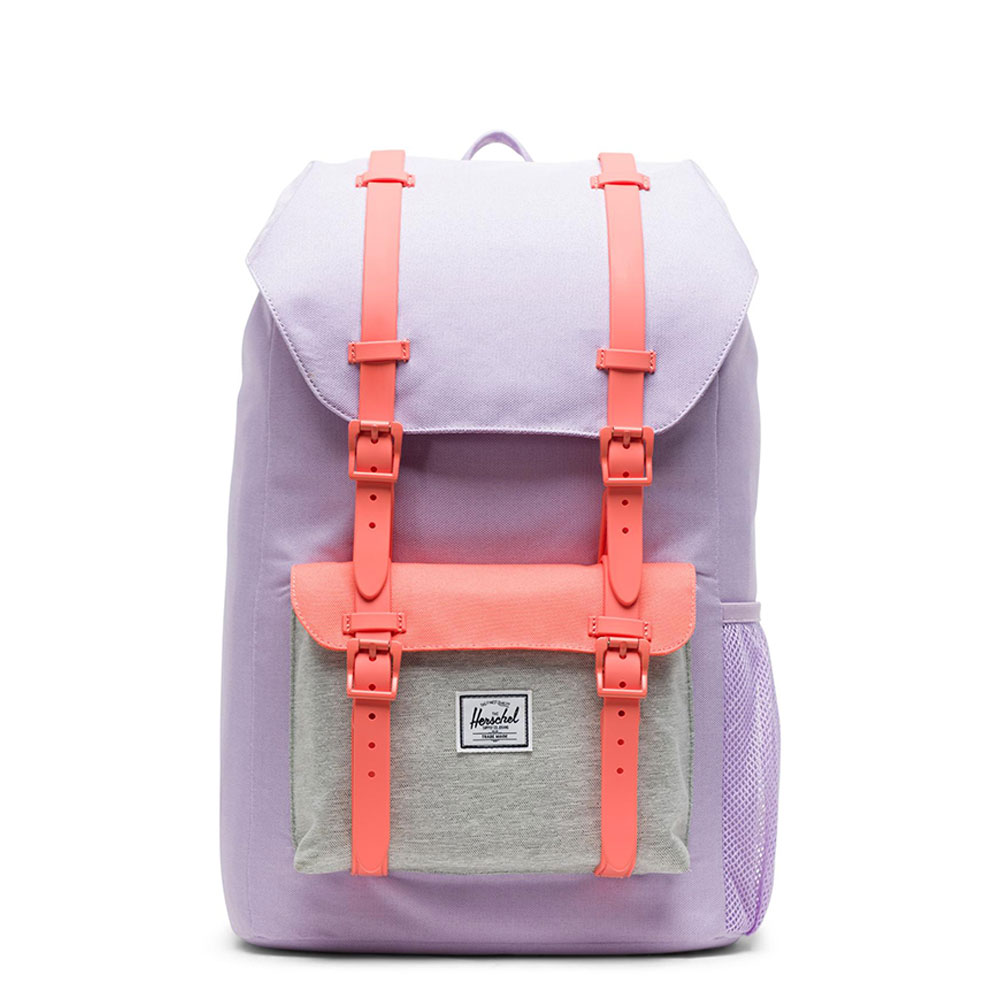 Herschel Little America Youth Rugzak Lavendula Crosshatch/ Light Grey/ Fresh Sal