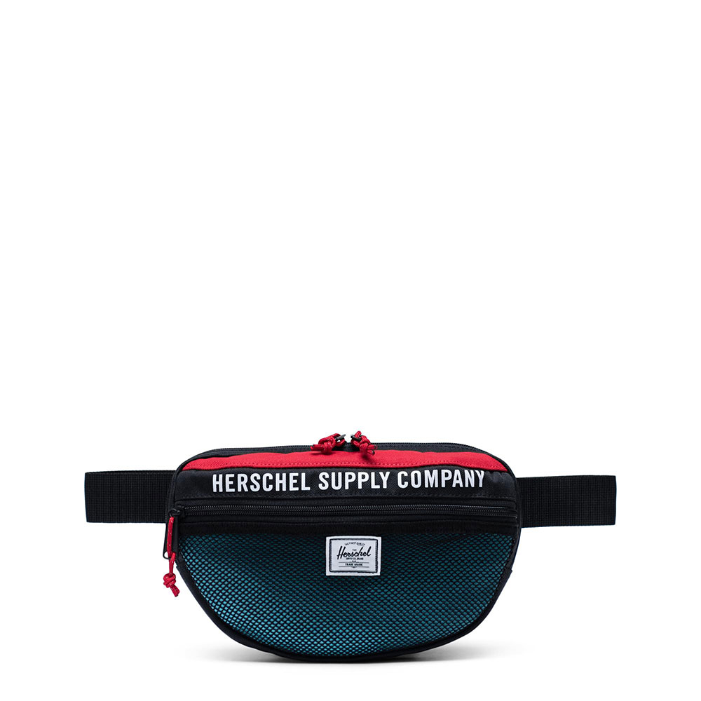 Herschel Nineteen Athletics Heuptas Black/ Red/ Bachelor Button