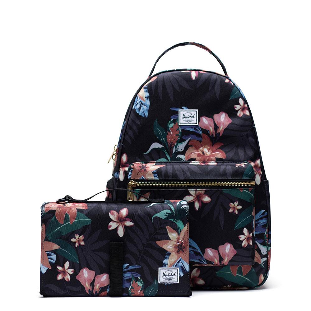 Herschel Nova Sprout Luiertas Summer Floral Black