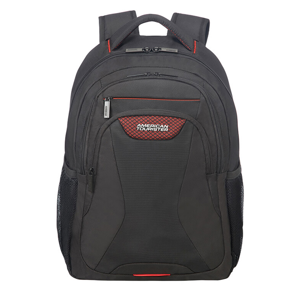 "Afbeelding van American Tourister AT Work Laptop Backpack 15.6"" Mesh Universe Black"