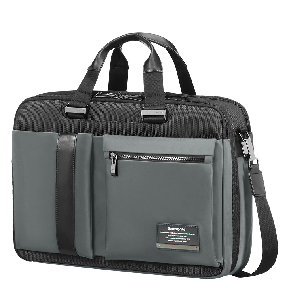Samsonite Openroad 3-Way Bag 15.6'' Expandable Eclipse Grey