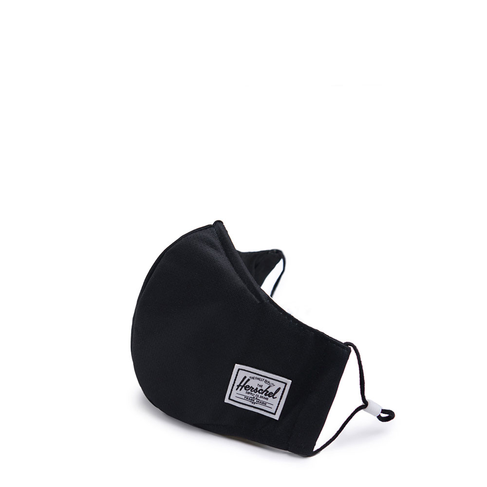 Herschel Classic Fitted Facemask Mondkapje Black