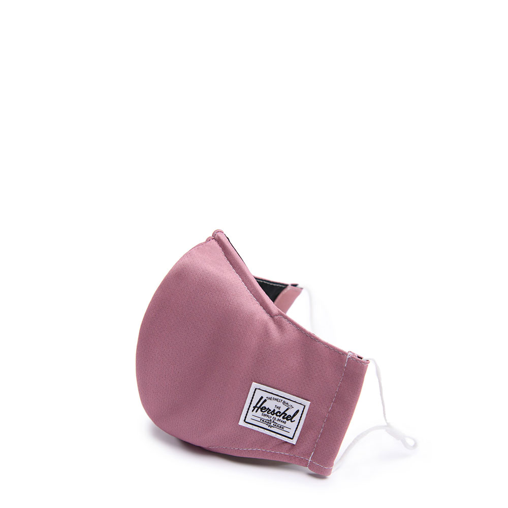 Herschel Classic Fitted Facemask Mondkapje Ash Rose
