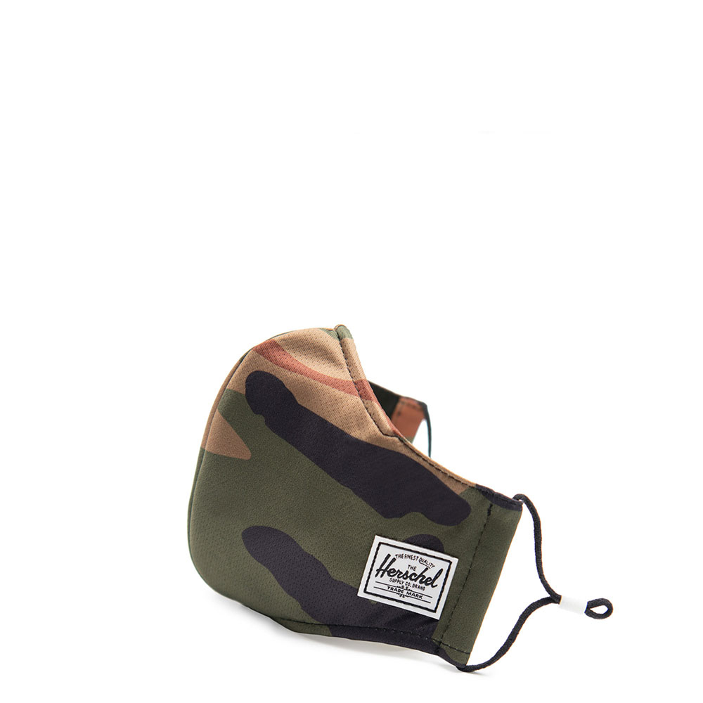 Herschel Classic Fitted Facemask Woodland Camo