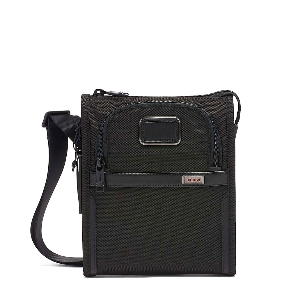 Tumi Alpha 3 Pocket Bag Small Black