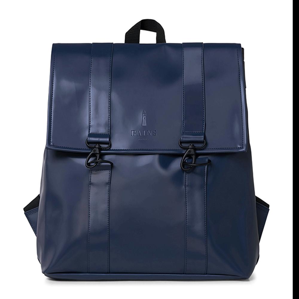 Rains Original MSN Bag Rugtas Shiny Blue