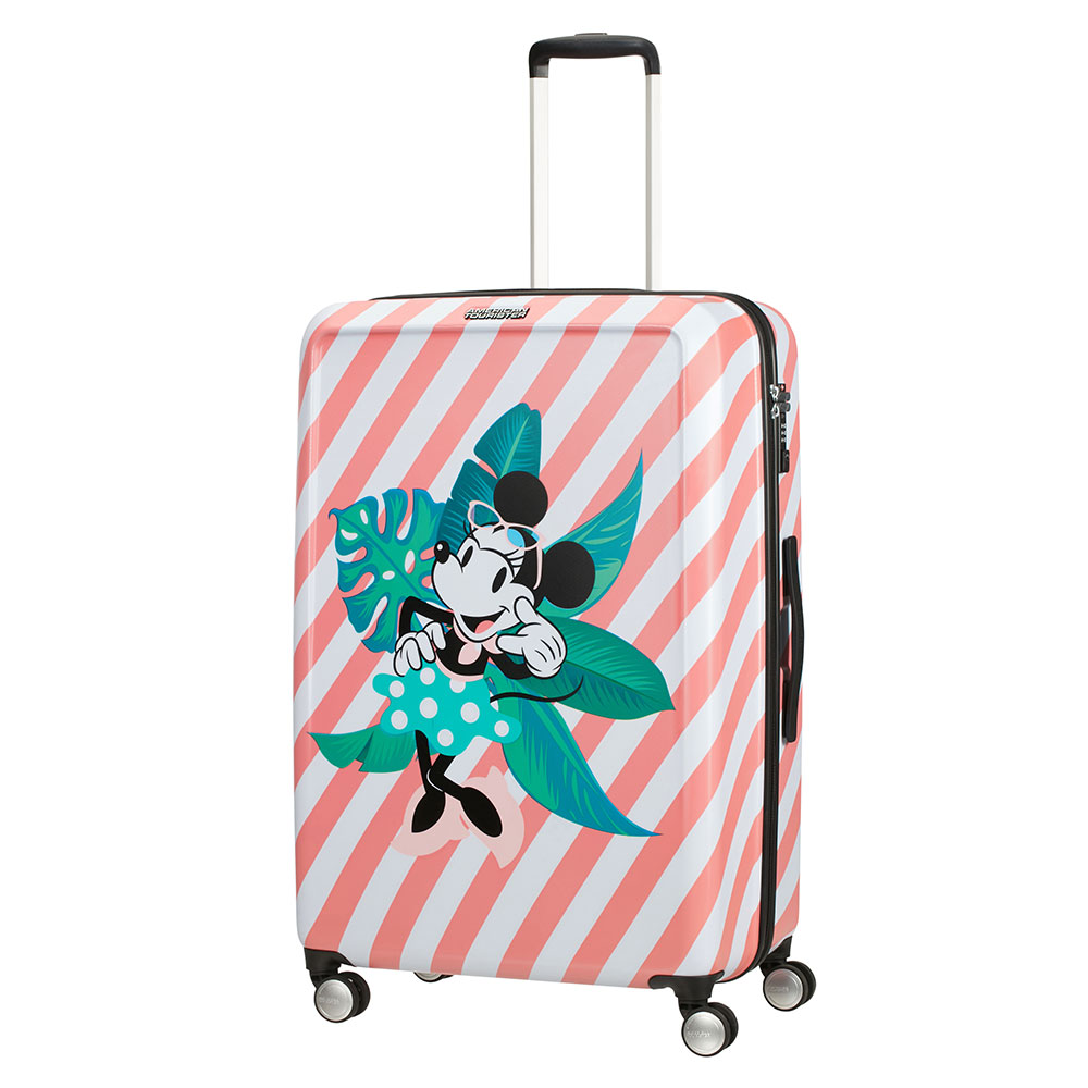 American Tourister Funlight Disney Spinner 77 Minnie Miami Holiday