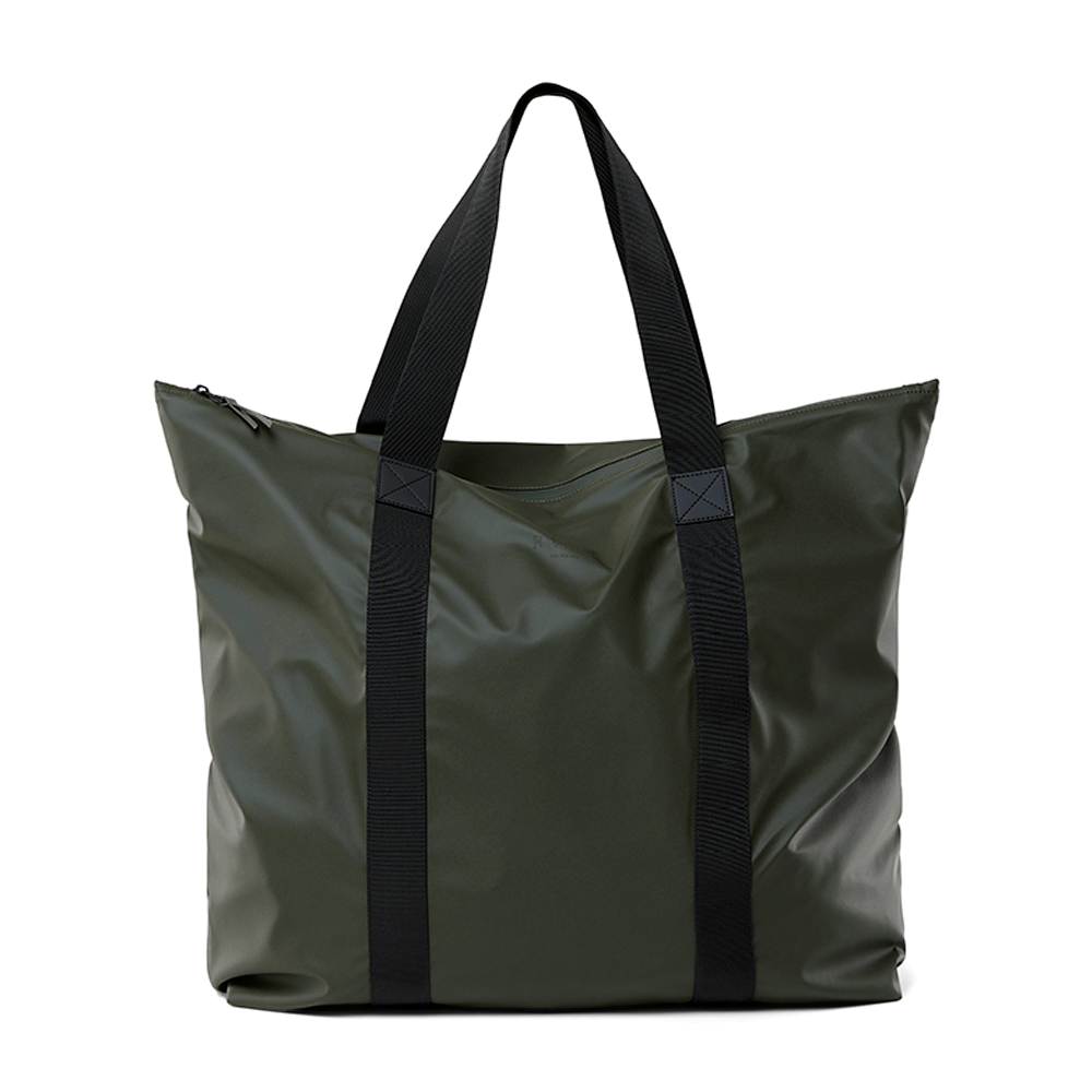 Rains Original Tote Bag Schoudertas Green