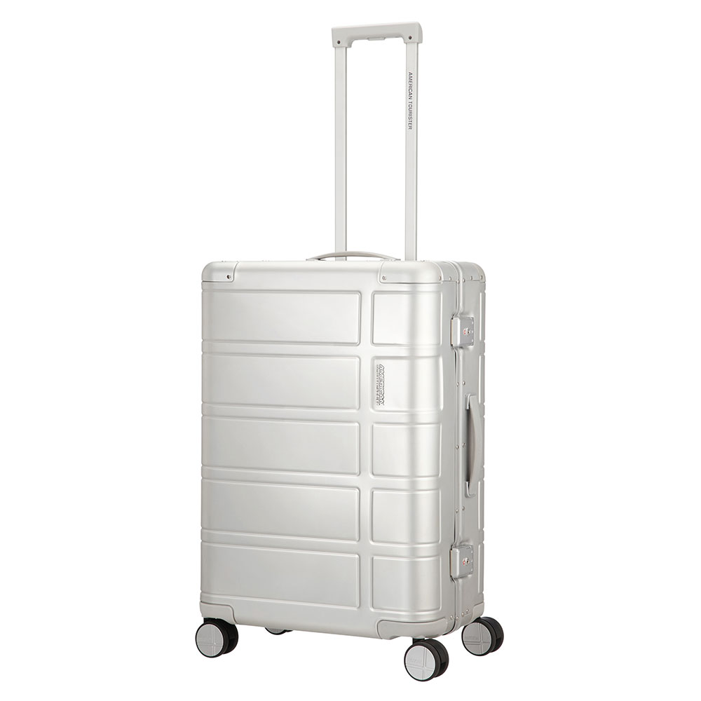 American Tourister Alumo Spinner 67 Silver