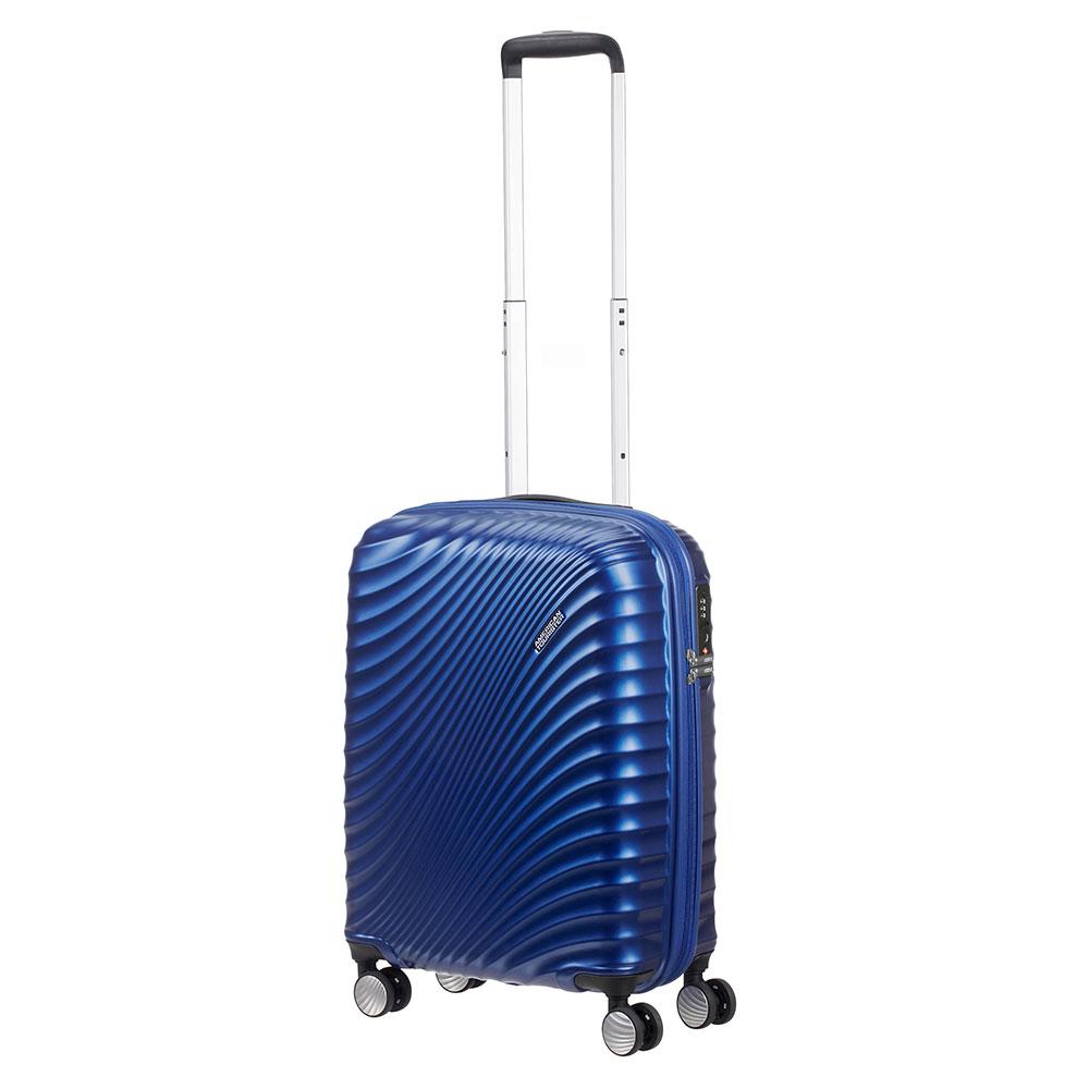 American Tourister Jetglam Spinner 55 Metallic Blue