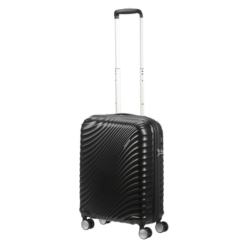 American Tourister Jetglam Spinner 55 Metallic Black