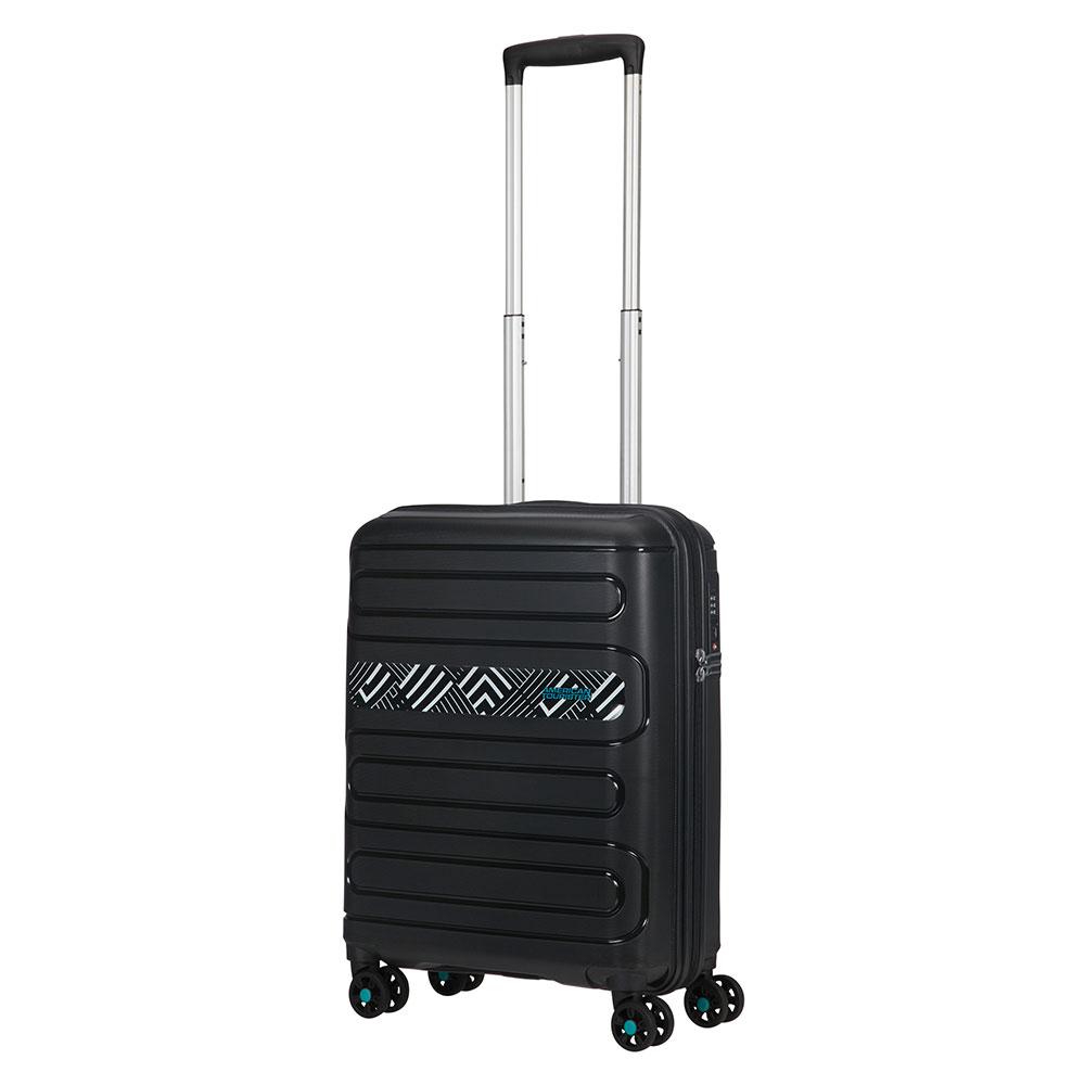 American Tourister Sunside Spinner 55 Print light geo Harde Koffer