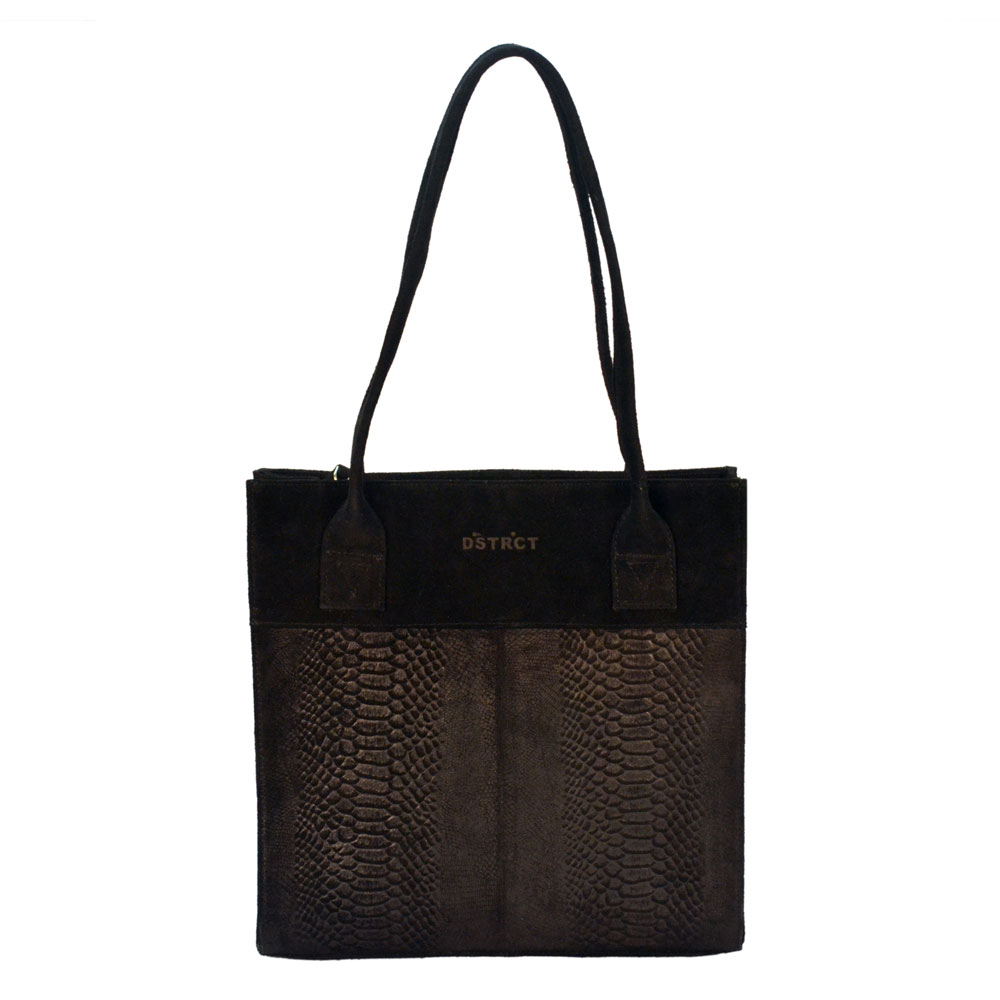 DSTRCT Portland Road Small Shopper Black 126340