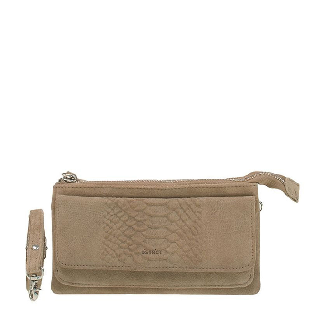 DSTRCT Portland Road Crossbody Wallet Taupe 126540