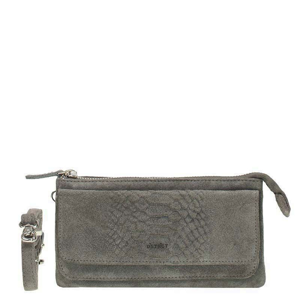 DSTRCT Portland Road Crossbody Wallet Grey 126540