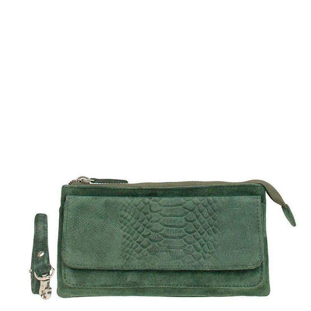 DSTRCT Portland Road Crossbody Wallet Green 126540