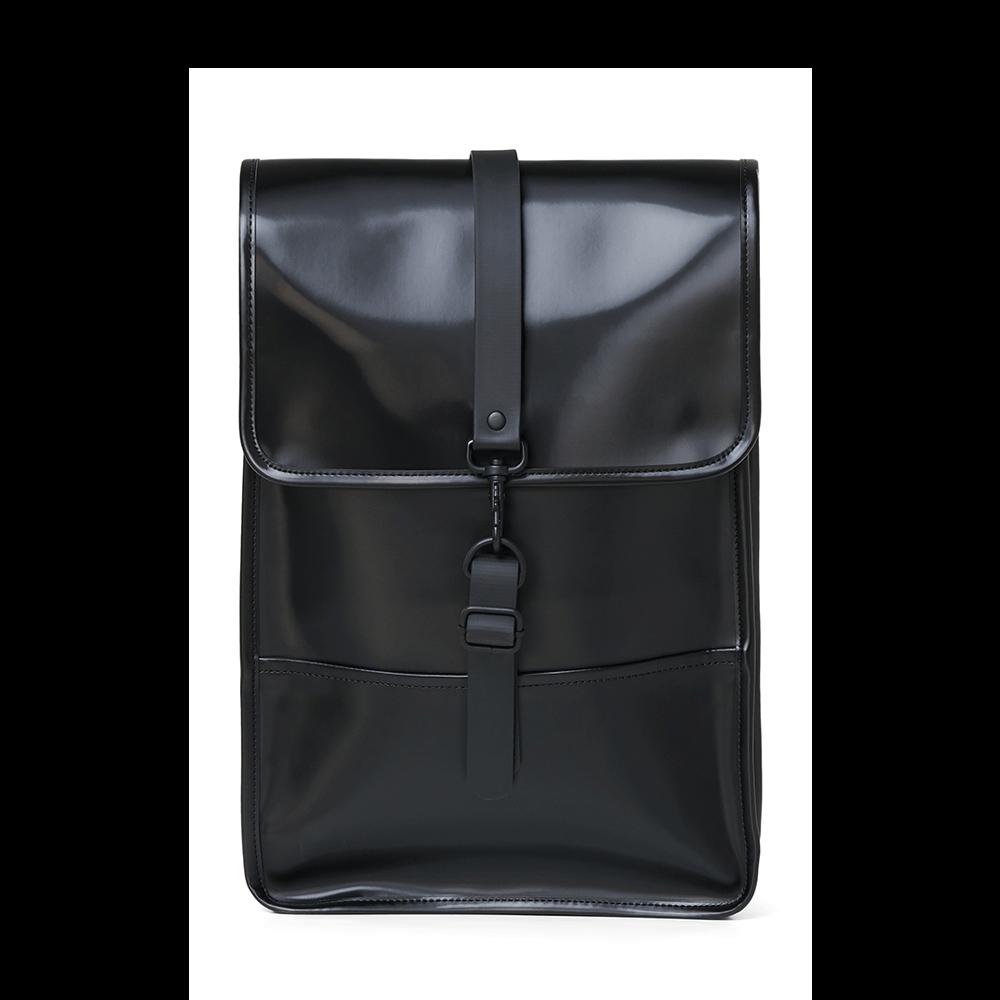 Rains Original Backpack Mini Shiny Black