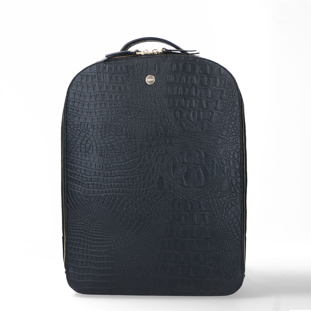 FMME Claire Laptop Rugtas 13.3 Croco Black