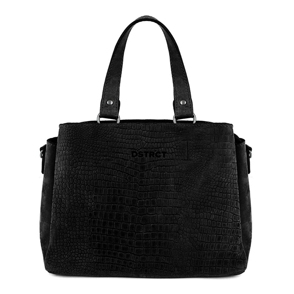 DSTRCT Alligator Creek Handbag Black 130430