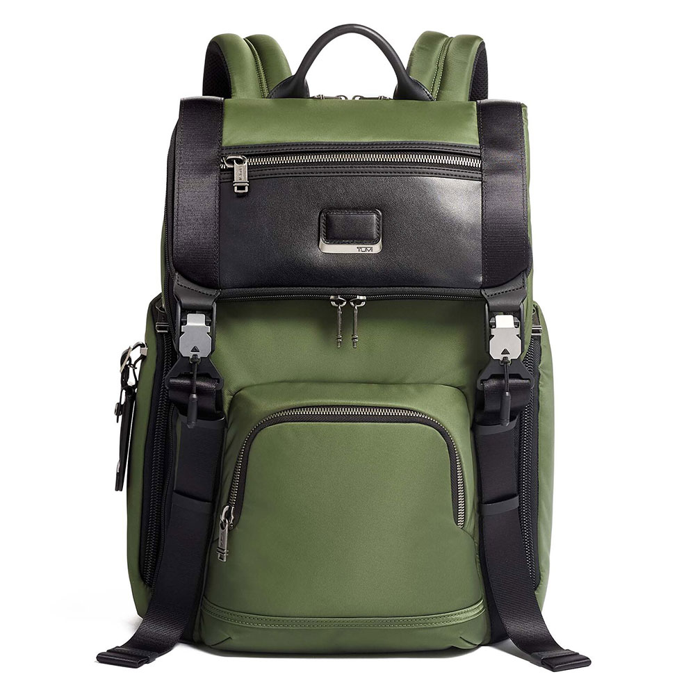 Tumi Alpha Bravo Lark Backpack Forest
