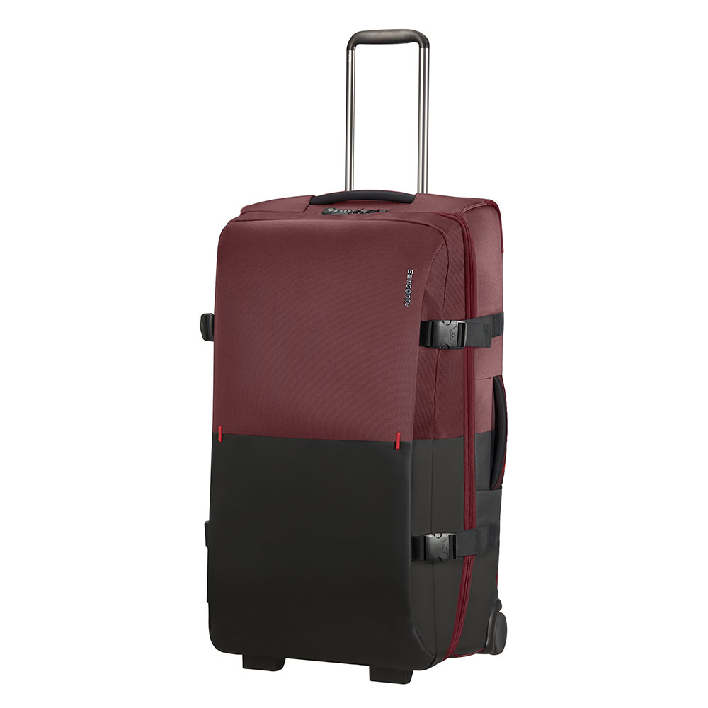 Samsonite Rythum Duffle Wheels 78 Burgundy