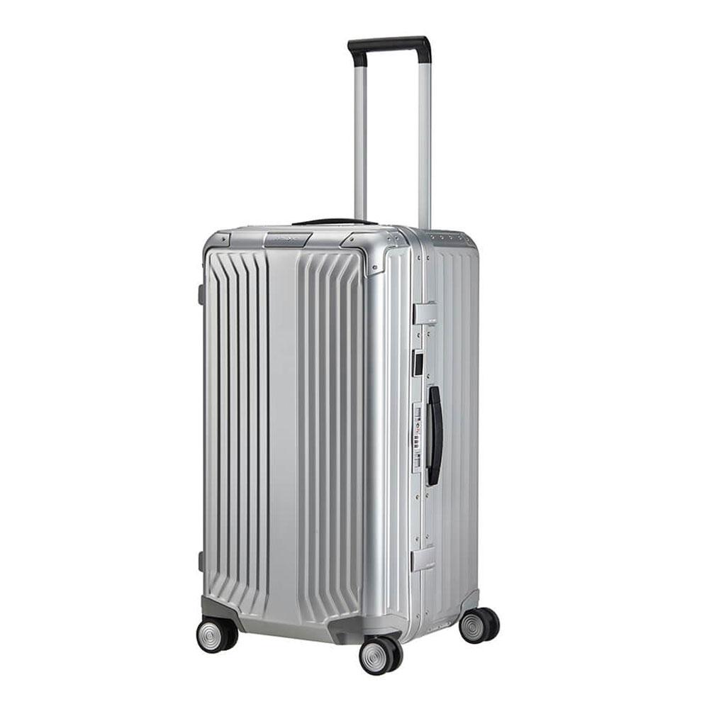 Samsonite Lite-Box Alu Trunk Spinner 74 Aluminium