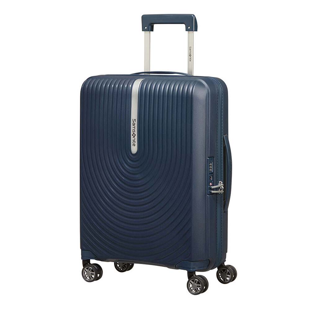 Samsonite Hi-Fi Spinner 55 Expandable Dark Blue