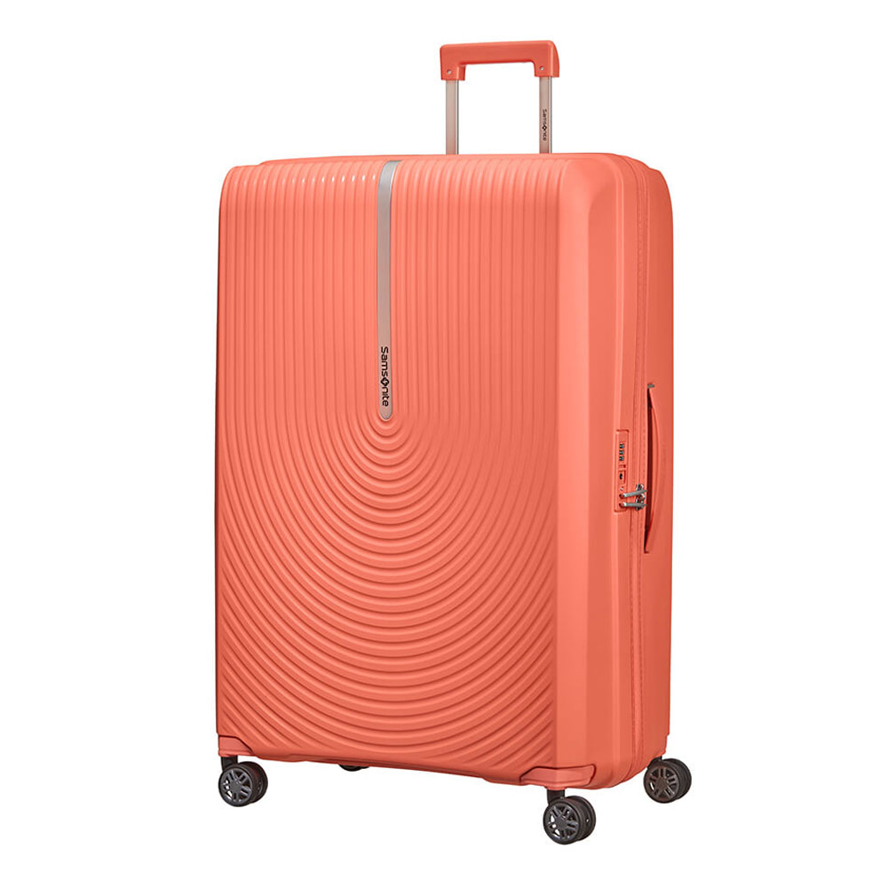 Samsonite Hi-Fi Spinner 81 Expandable Bright Coral