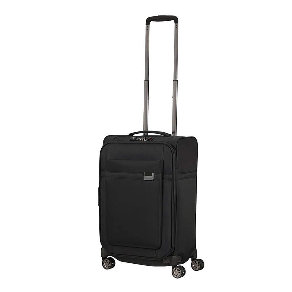 Samsonite Airea Spinner 55 Length 35 Exp Black