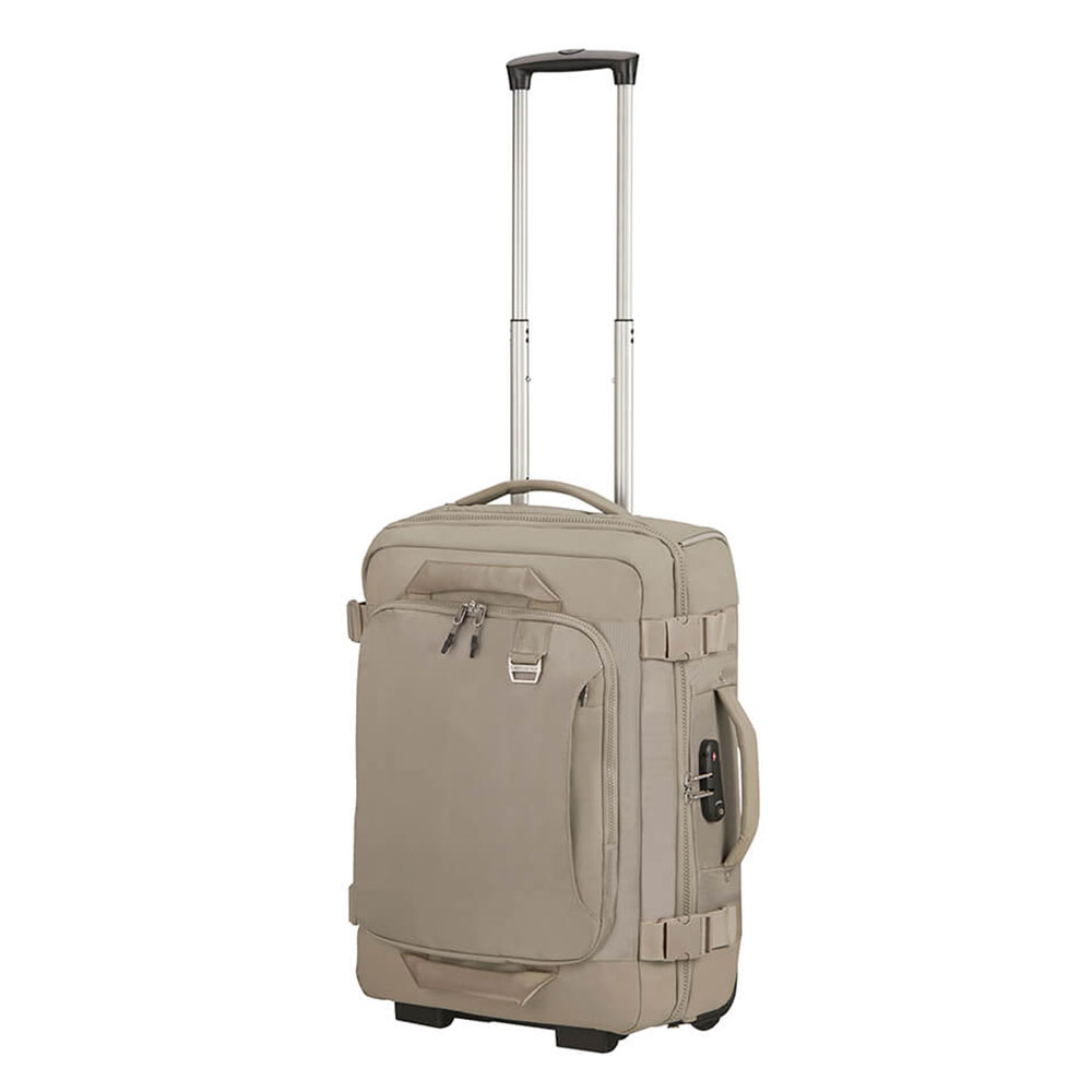Samsonite Midtown Duffle Wheels 55 Backpack Sand