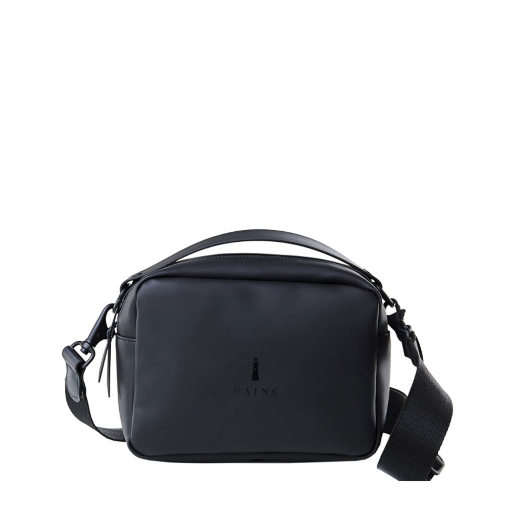 Rains Original Box Bag Black