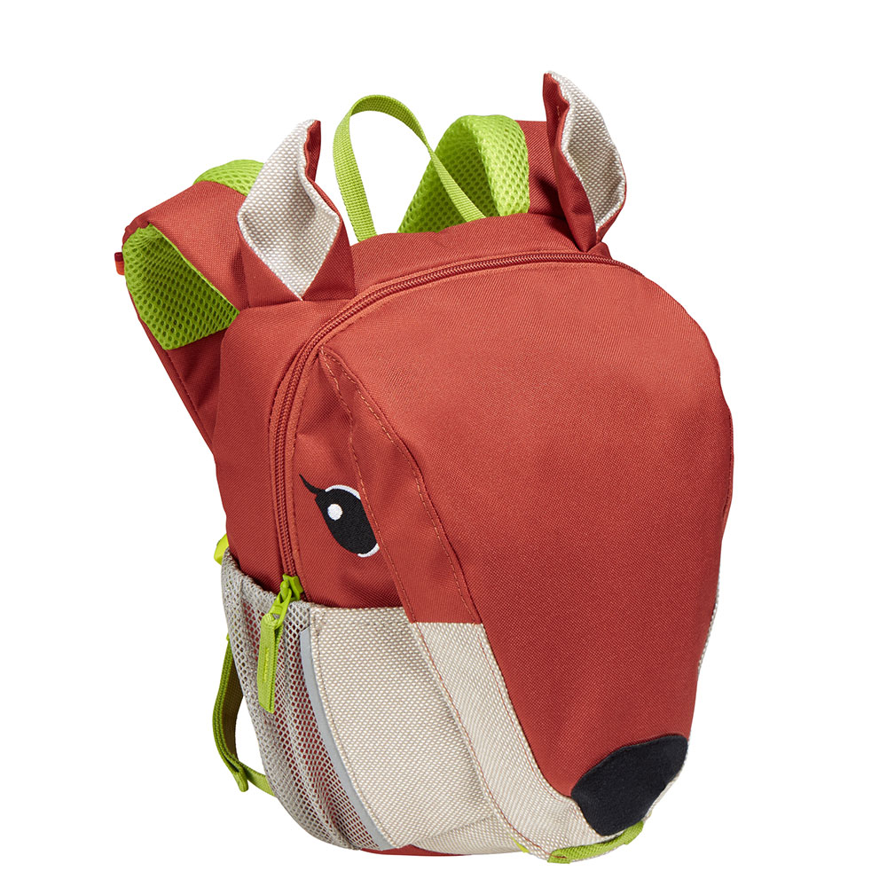 Vaude Green Rebel Kids Wusel Kinder Rugtas Redwood
